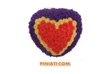 Пинята Сърце с розички