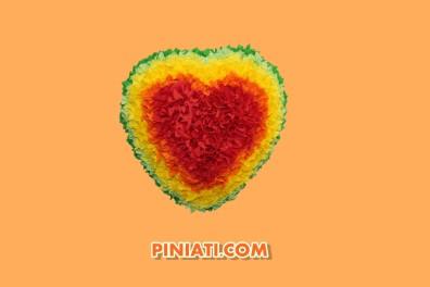 Пинята Сърце с цветчета