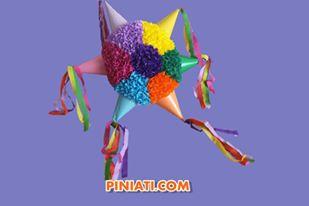 Пинята Звезда с цветенца