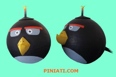 Пинята Angry birds Bomb_OK1