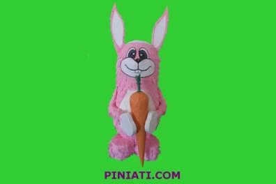 Пинята Розово Зайче