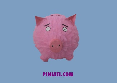 Пинята Розово прасенце_2