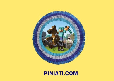 Пинята Minecraft – барабан