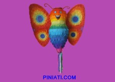 Пинята Слънчева пеперуда
