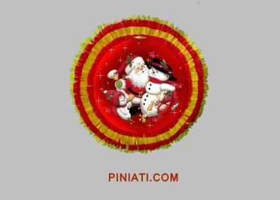 Пинята Коледа_Снежко