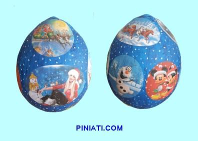 Пинята Коледа_Снежна топка-2