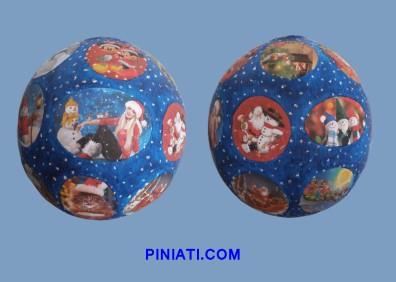 Пинята Коледа_Снежна топка