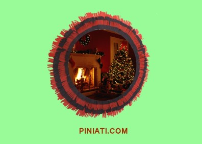 Пинята Коледа_елха