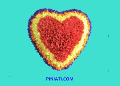 Пинята Сърце с цветчета_3A