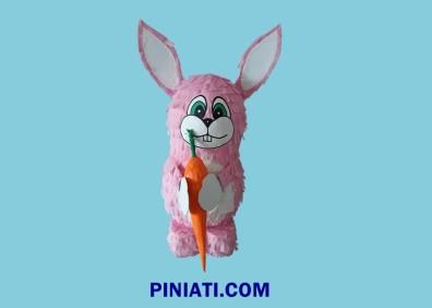 Пинята Розово Зайче -2