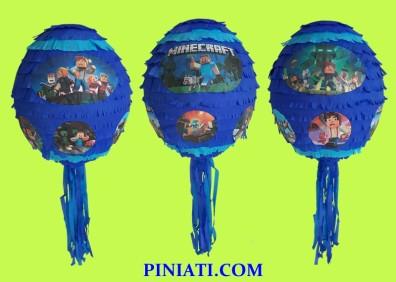 Пинята Minecraft-4 балон