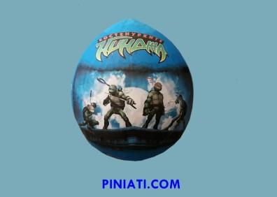 Пинята Костенурките нинджа-балон