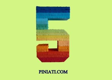 Пинята Цифрата Пет-дъга