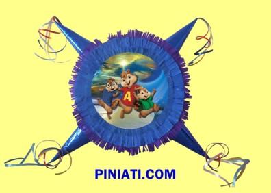 Пинята Алвин и Чипоносковците-1