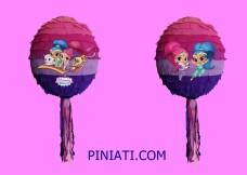 Пинята Искрица и Сияйница – балон