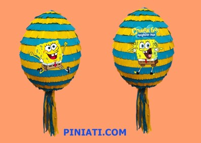 Пинята Спондж Боб_балон2
