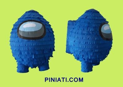 Пинята Among Us – синьо