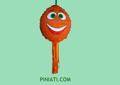 Пинята Емоджи (оранжево)-2