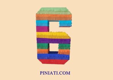 Пинята Цифрата шест-1