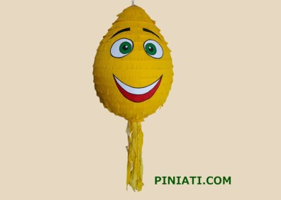 Пинята Емоджи (жълто)